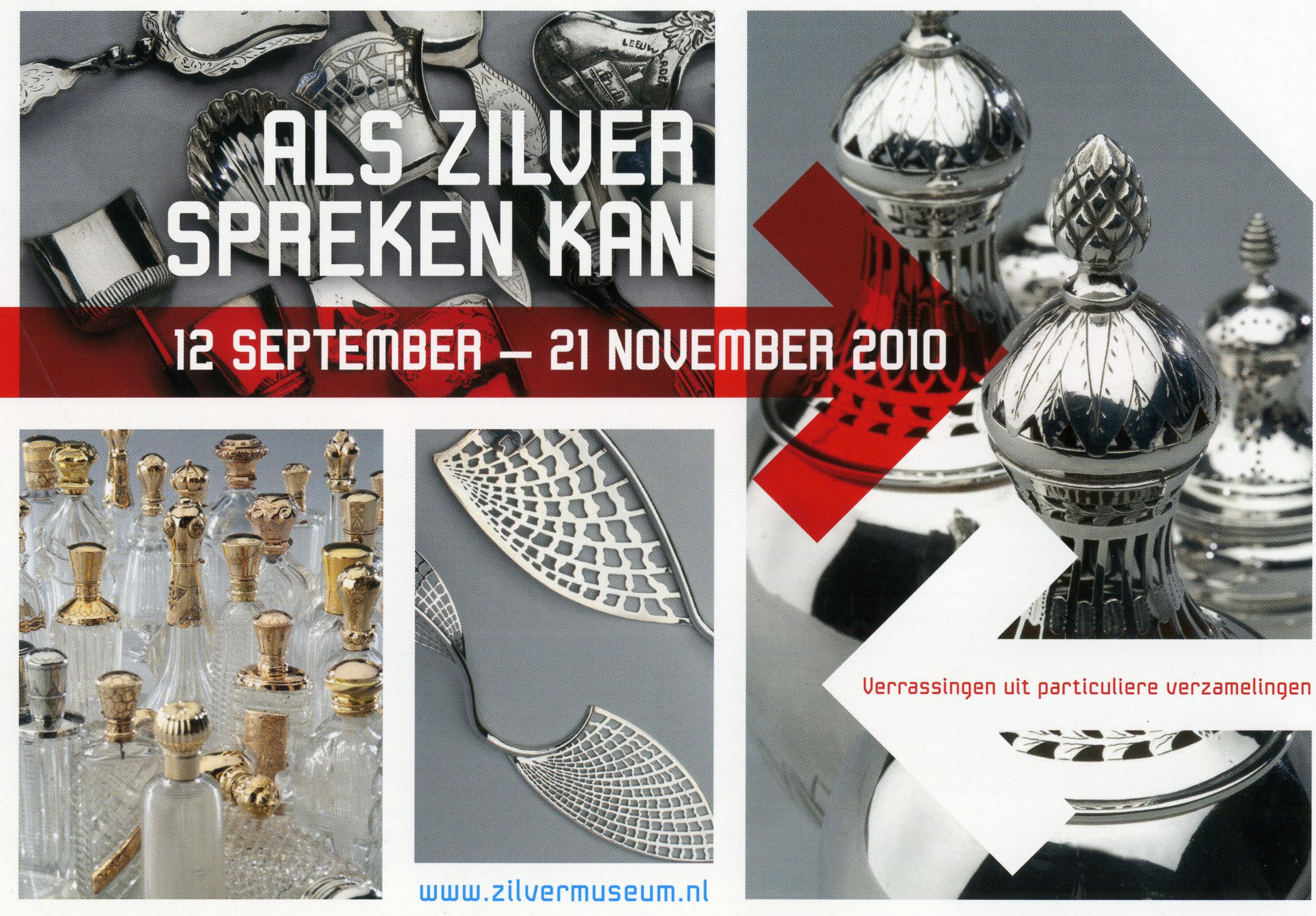 museum tentoonstelling als zilver spreken kan