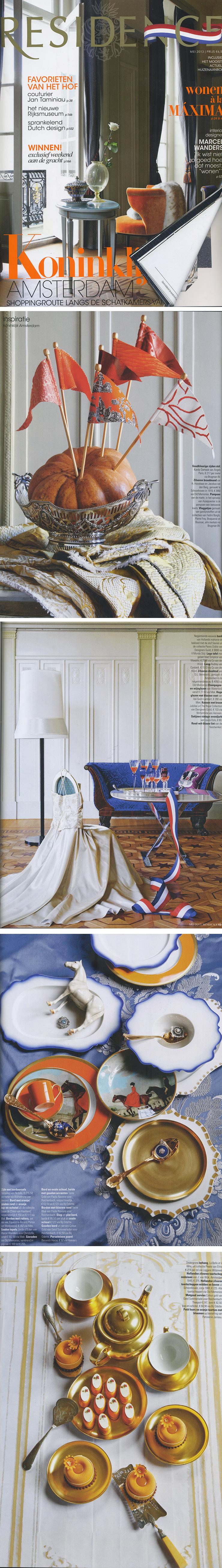 Het Zilverwerk van Zilver.nl in het glossy magazine de Residence