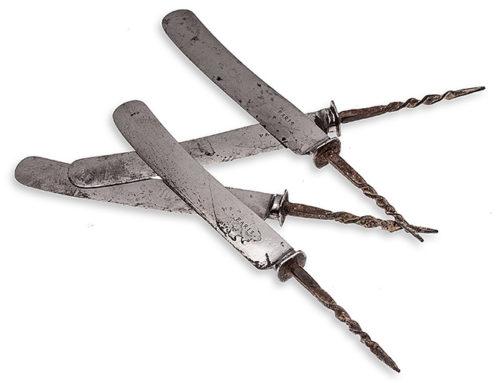 Oude zilveren messen, een zoektocht!
