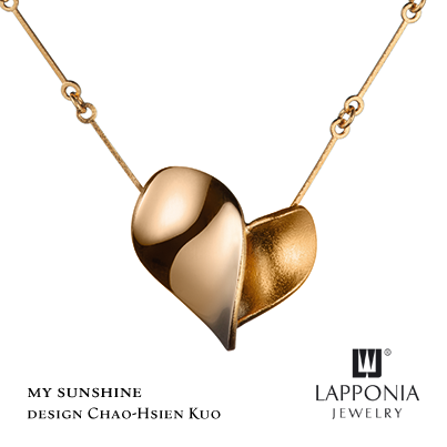 Gouden Lapponia collier My Sunshine in de Outlet collectie.