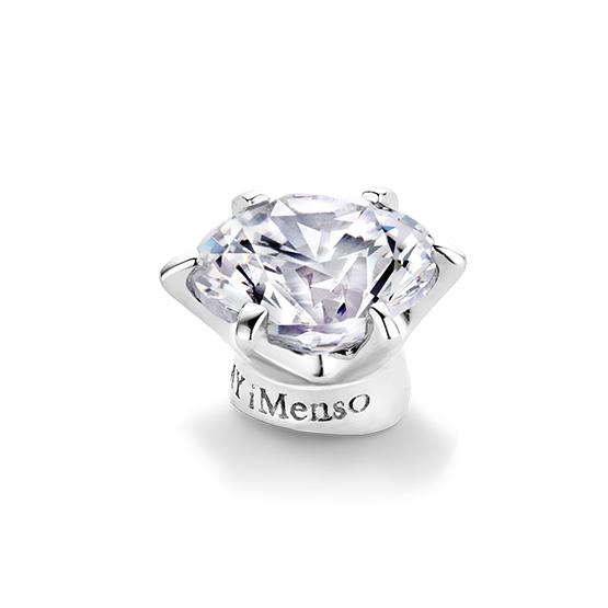Losse middensteen voor in de Elegance ringen van My iMenso
