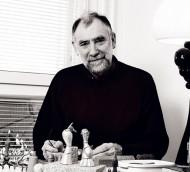 schaakspel ontworpen door Zoltan Popovits voor Lapponia.