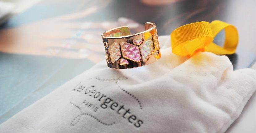 ringen van Les Georgettes van je makkelijk aan naar de gewenste kleur