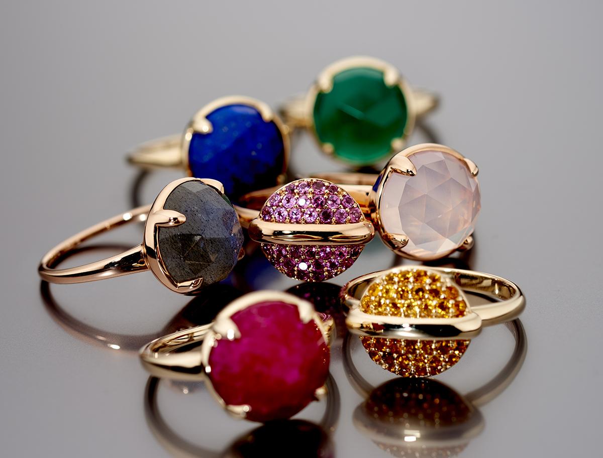 Fiorelil 9 karaats gouden sieraden