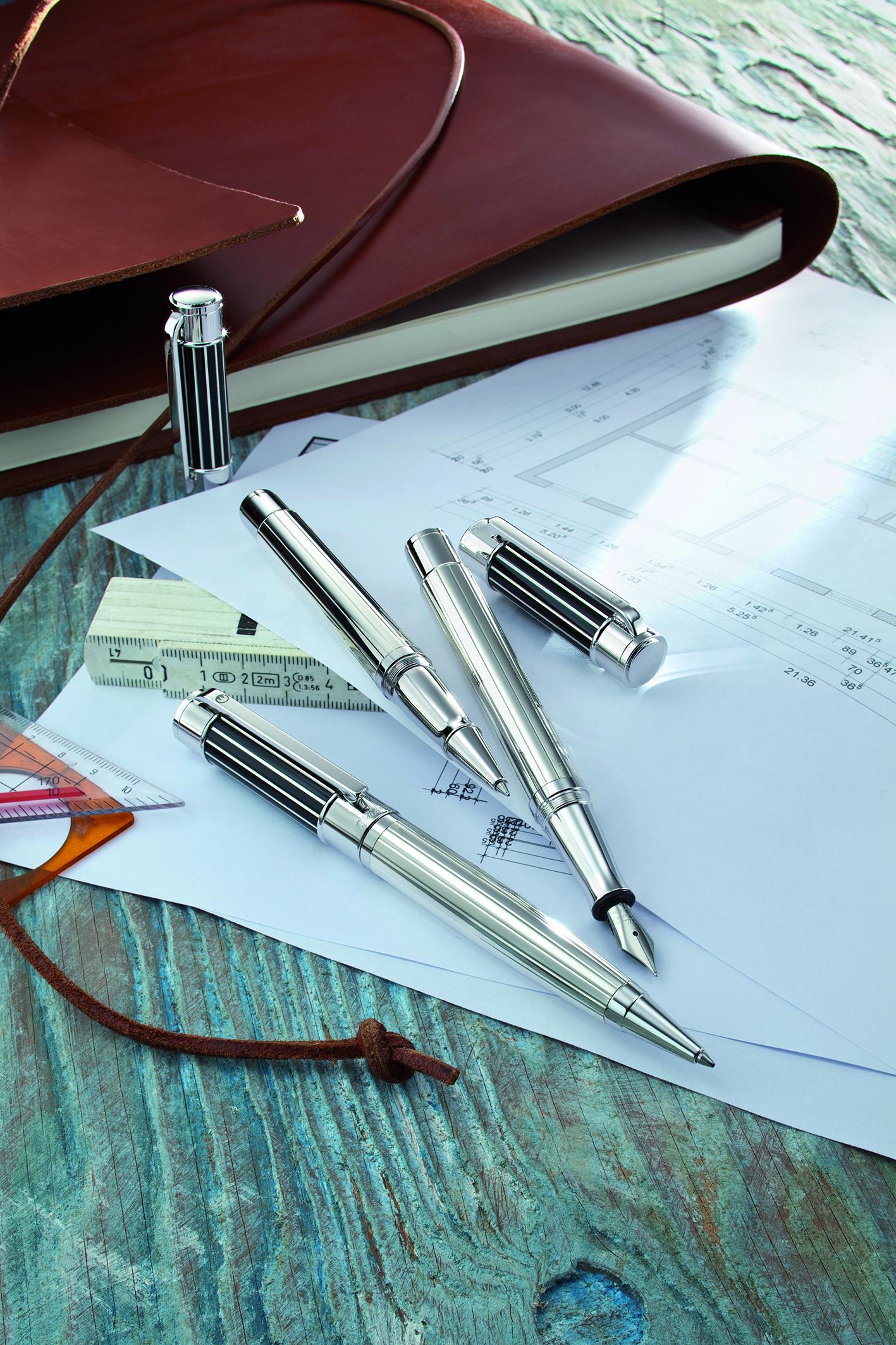 Waldmann zilveren potloden en pennen