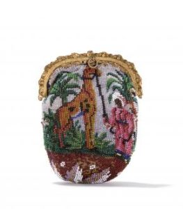 Tasje met giraf van het tassenmuseum Hendrikje