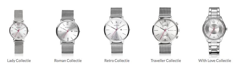 Zinzi horloges diverse modellen en lijnen