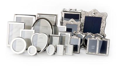 Fotolijsten in vele maten en stijlen met zilveren monturen
