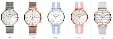 De nieuwe collectie Zinzi horloges met gestreepte horlogebanden en parelmoer wijzerplaat
