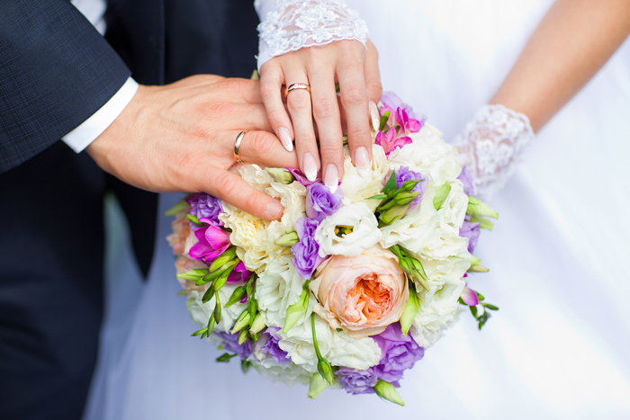 cadeaus van zilver voor een bruidspaar
