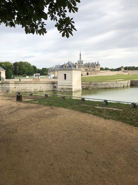 De eerste blik op Chateau de Chantilly