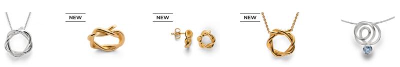 Zilveren sieraden ontworpen door Philip en Dan Reiffert voor Bastian Inverun.