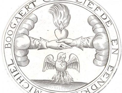 Afbeeldingen op antiek zilver en hun betekenis