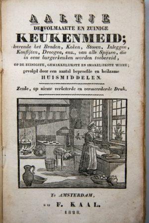 Aaltje de volmaakte en zuinige keukenmeid kookboek