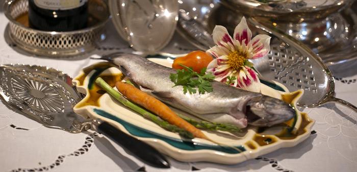 zilveren visscheppen, zilveren visdienschep