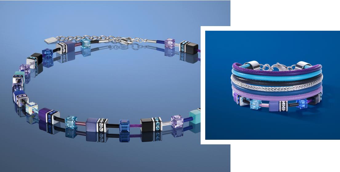 Nieuwe collectie van Coeur de Lion sieraden in blauw