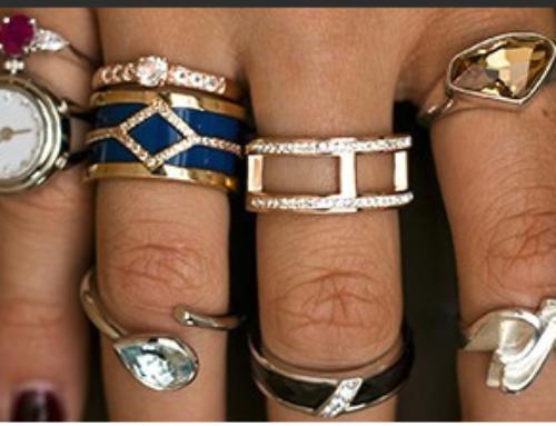 Ringen, romantische sieraden