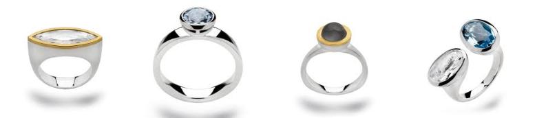 Zilveren ringen van Bastian Inverun