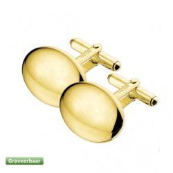Gouden manchetknopen Zilver.nl
