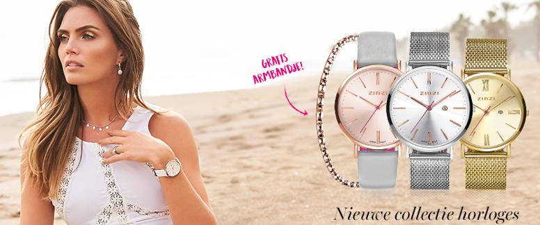 Zinzi horloge met een gratis armbandje bij Zilver.nl