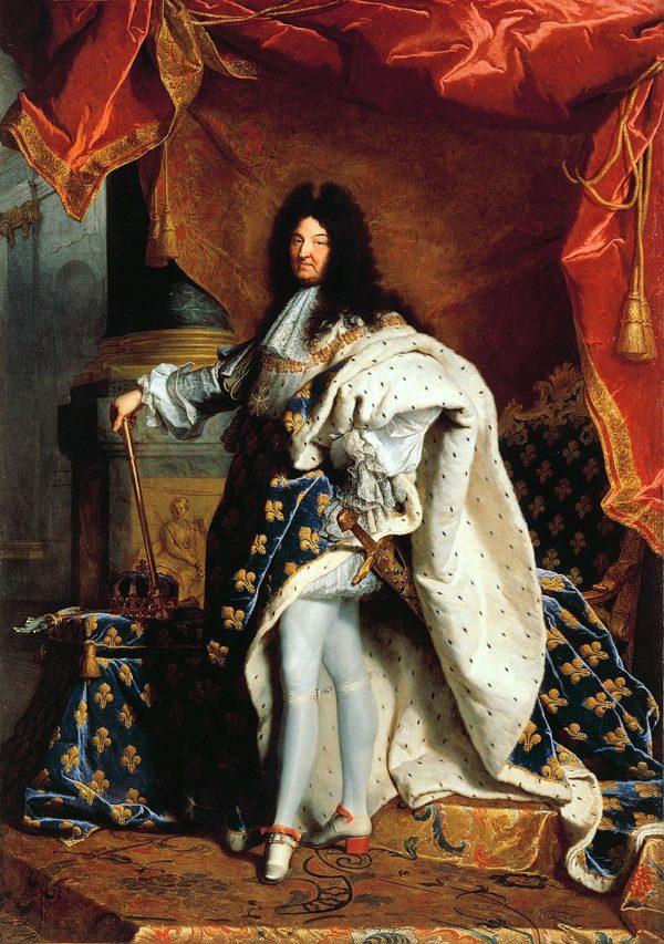 De Zonnekoning Lodewijk XIV van Frankrijk