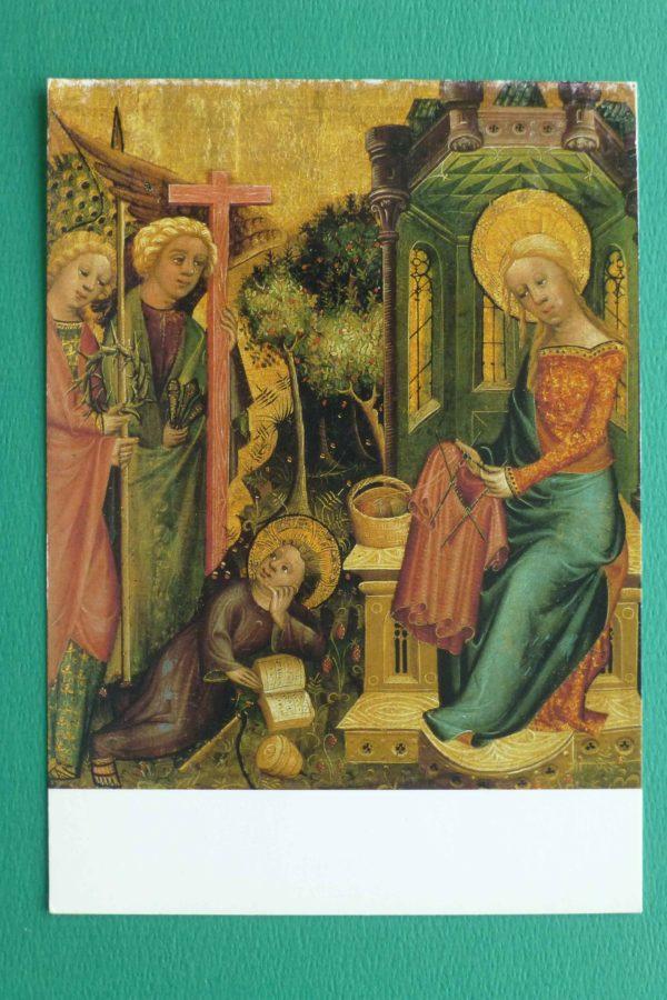 [foto 1 Het bezoek van de Engel door Meester Bertram 1340-1414]