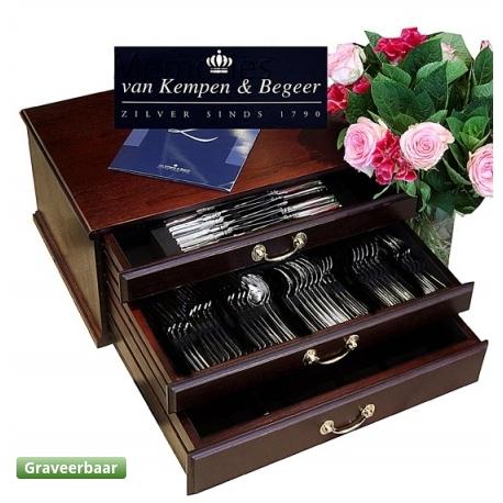 Zilveren bestek cassette Zilver.nl