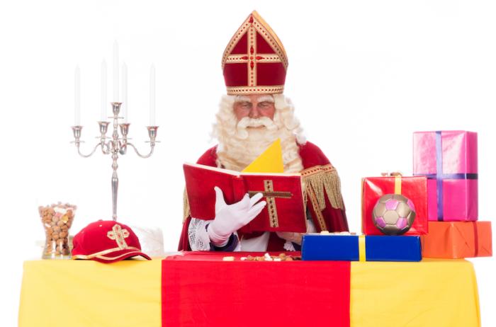 Sinterklaas koopt zijn cadeaus bij Zilver.nl