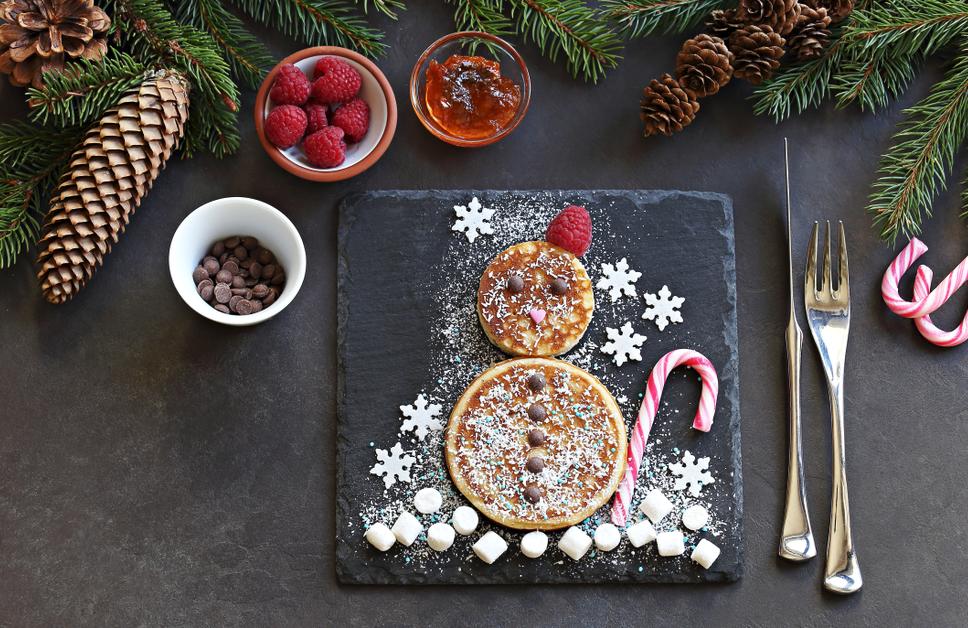 Kerstontbijt met zilver bestek van Zilver.nl