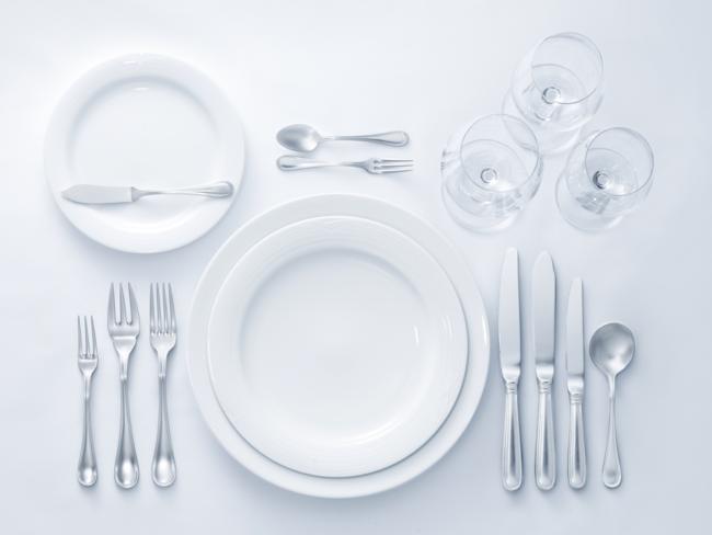 tafel etiquette zo hoort het Zilver.nl