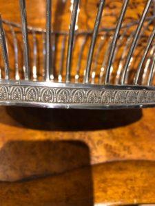 palmetmotief op zilver Zilver.nl