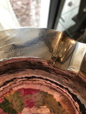 Vissenhuidpatroon op zilver van Zwollo Zilver.nl