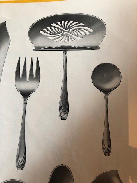 Art Deco zilver bestek Zilver.nl