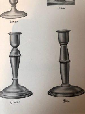 Baluster vorm in zilver Zilver.nl