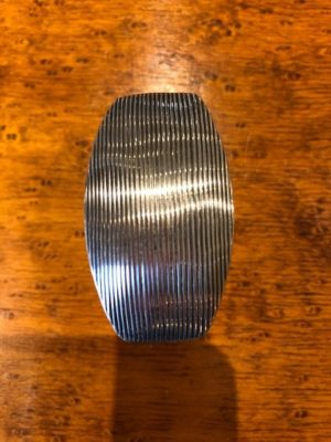 Ribpatroon in zilver Zilver.nl