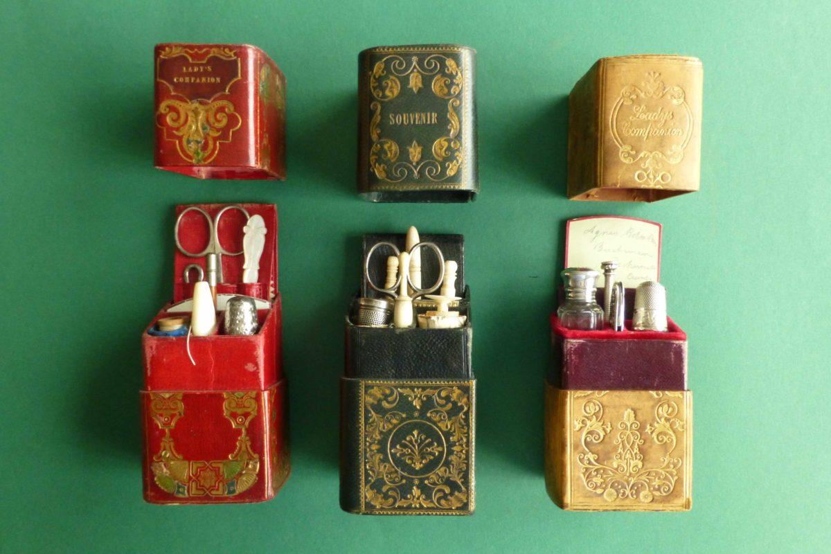 Engelse reisnecessaires antiek
