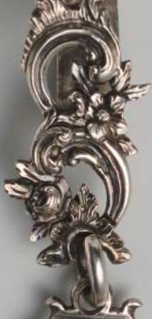 Zilveren versiering C voluten Zilver.nl