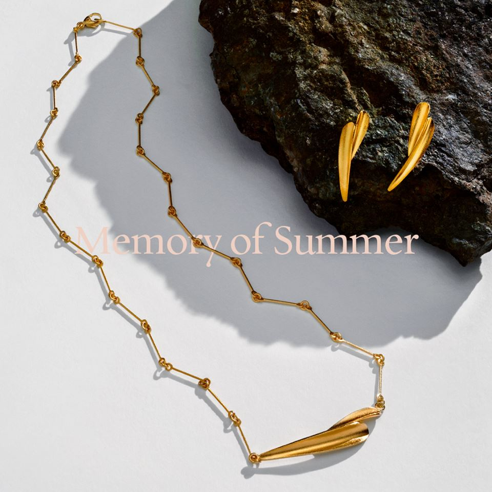 Lapponia gouden sieraden Memory of Summer bij Zilver.nl