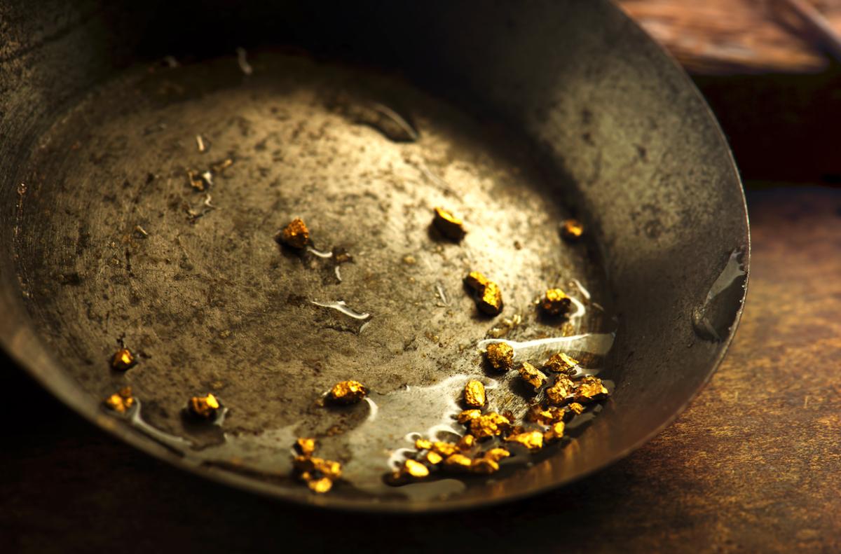 goud zeef