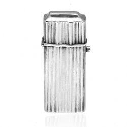rib zilveren tondeldoosje Zilver.nl