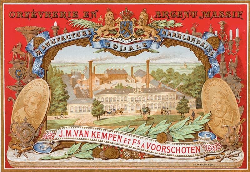 Voorplaat van de catalogus die Van Kempen laat maken voor de wereldtentoonstelling 1867 parijs