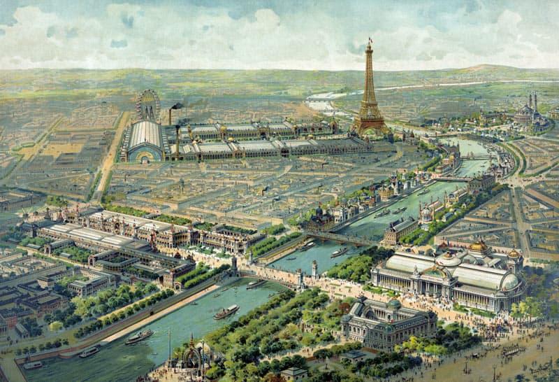 Wereldtentoonstelling 1900 Parijs van Kempen zilver