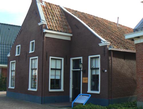 Het Kapiteinshuis in Nieuwe Pekela, een klein museum maar als een parel zo mooi