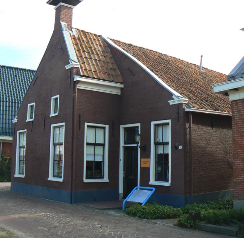 Het kapiteinshuis in Pekela
