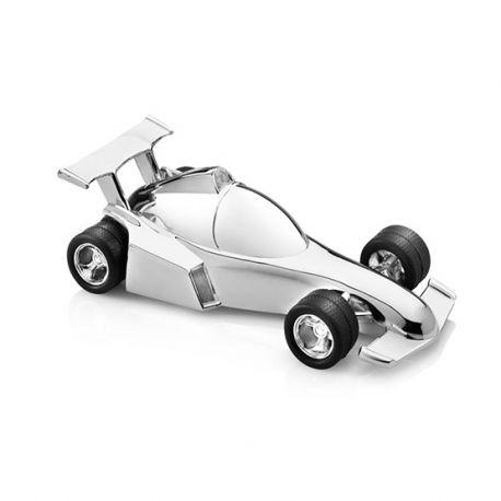 spaarpot raceauto formule 1 verzilverd graveerbaar Zilver.nl