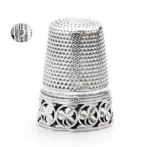 Zilveren vingerhoed van Gabler Zilver.nl