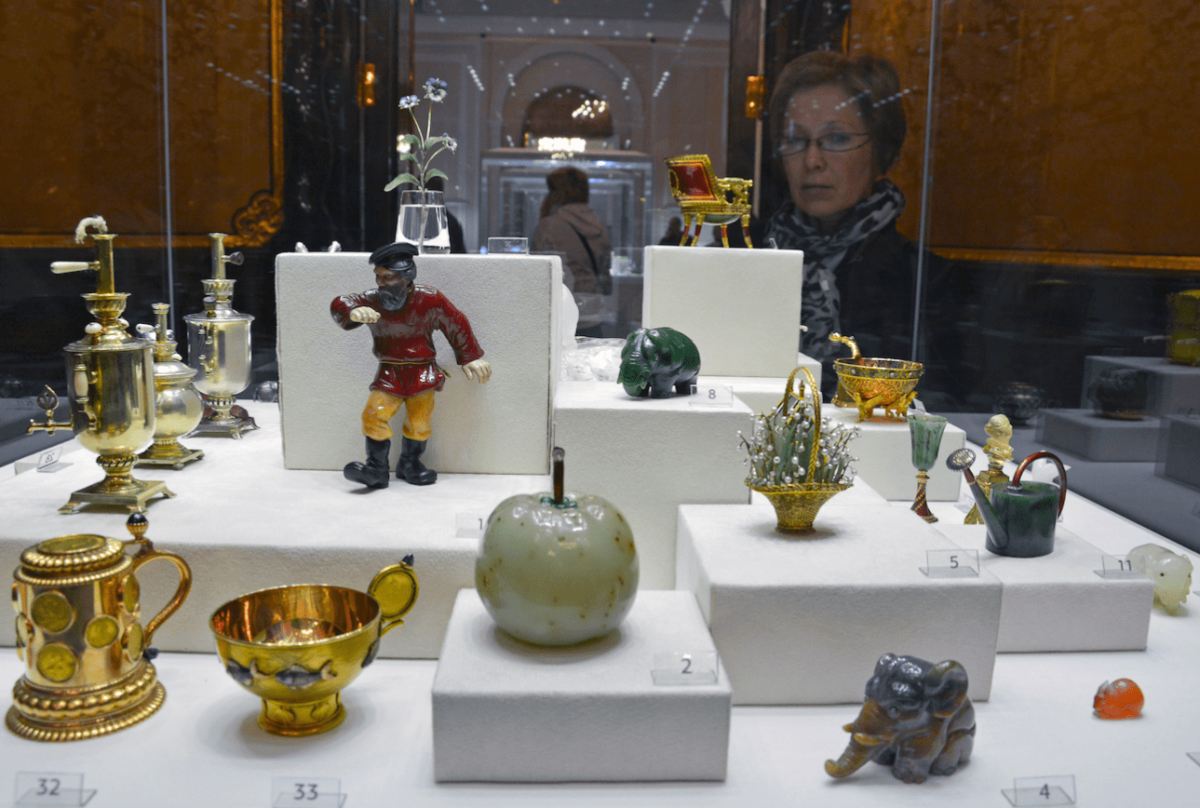 Kunstvoorwerpen van Fabergé in het Fabergé museum Blog Zilver.nl