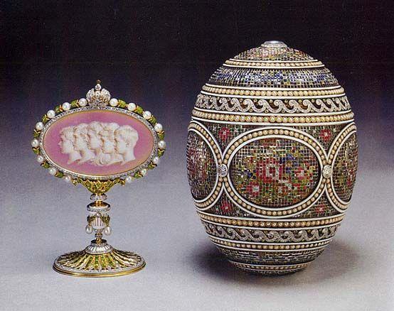 Het Fabergé ei van de Engelse Koningin Blog Zilver.nl