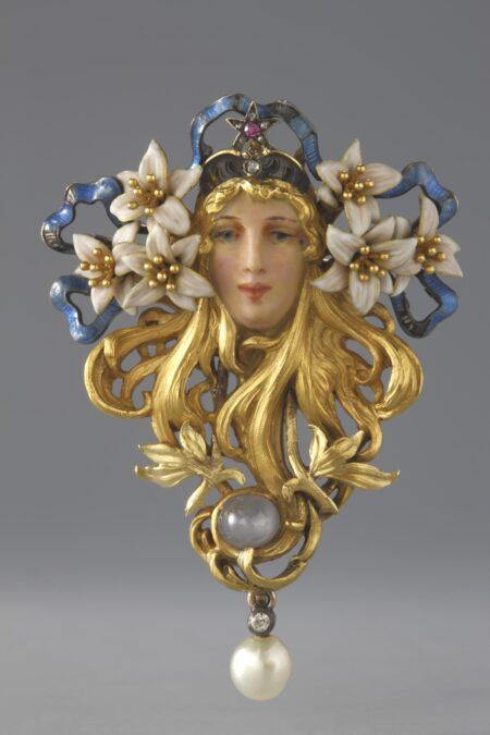Art Nouveau broche Georges Fouguet Blog Zilver.nl