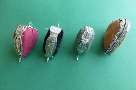 Antieke zilveren speldenkussens in hartvorm Blog Zilver.nl